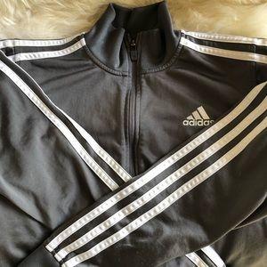 Adidas boys, athletics zip up